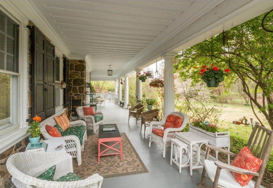 house for sale devon colonial revival porch