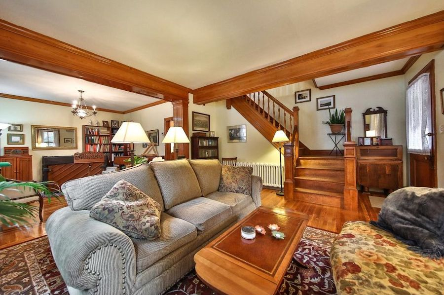 House for sale stately updated victorian in fox chase - Victorian living room set for sale ...