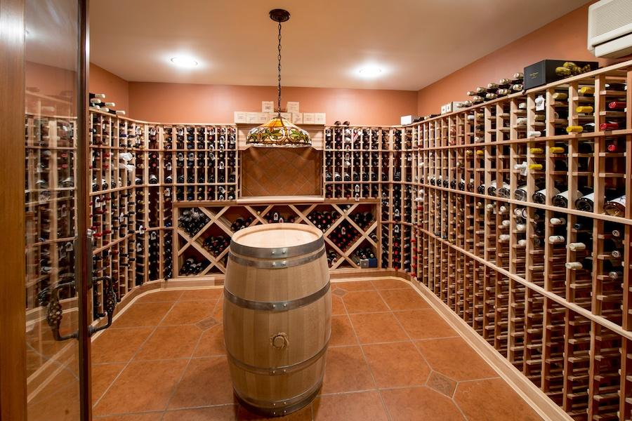 house for sale gladwyne estate main house wine cellar