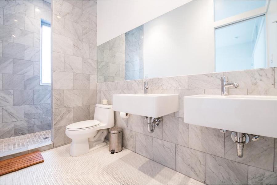 house for sale northern liberties bauhaus master bathroom