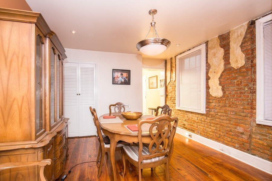 house for sale northern liberties traditional row house dining room