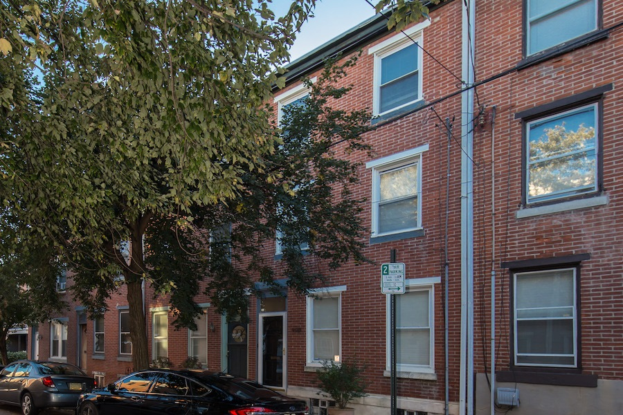 house for sale northern liberties traditional row exterior front