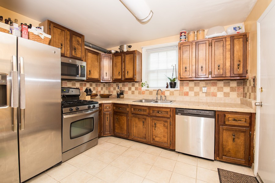 house for sale northern liberties traditional row house kitchen