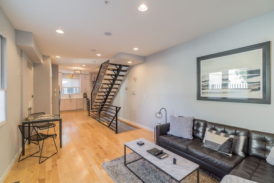 house for sale northern liberties modern townhouse main floor