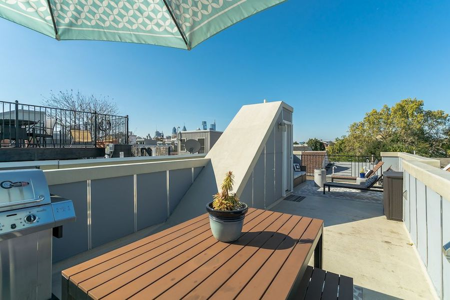 house for sale northern liberties modern townhouse roof deck