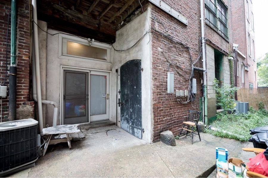 house for sale old city new condo rear patio