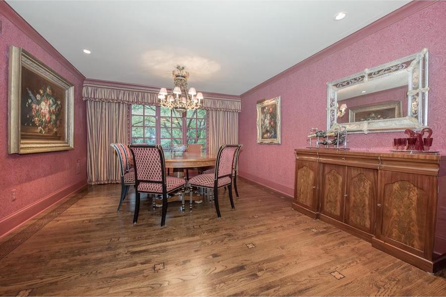 house for sale penn valley hillside chateau dining room