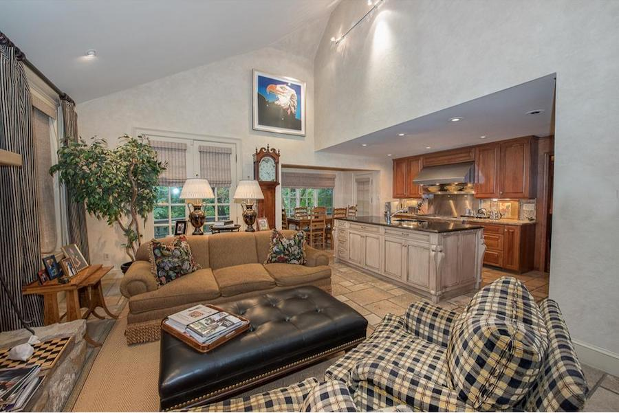 house for sale penn valley hillside chateau family room and kitchen