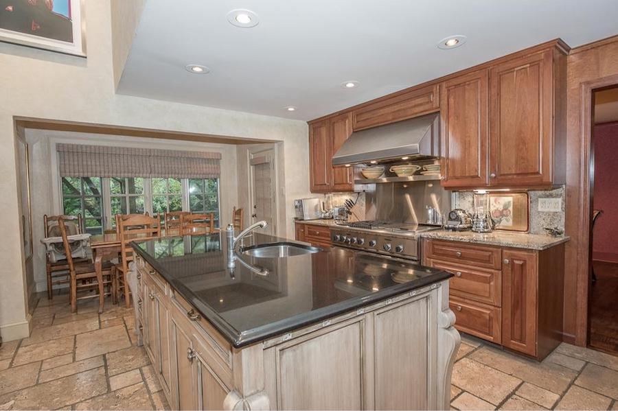 house for sale penn valley hillside chateau kitchen