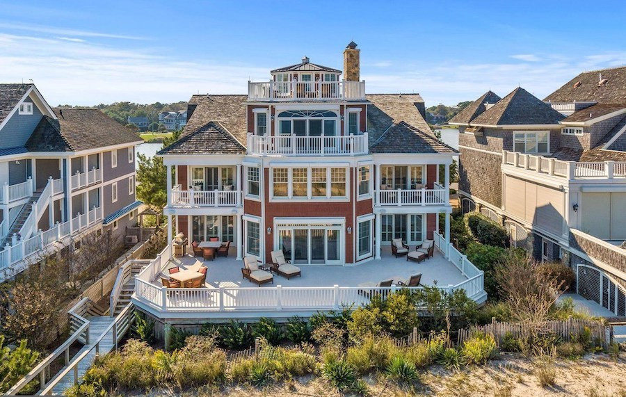 house for sale rehoboth beachfront mansion oceanfront view