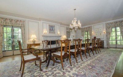 house for sale wayne colonial estate dining room