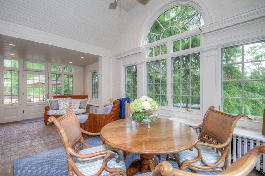 house for sale wayne french colonial sunroom
