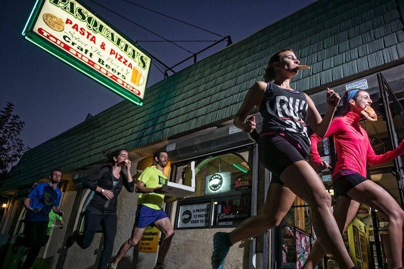 pizza mile run pasquallys philadelphia