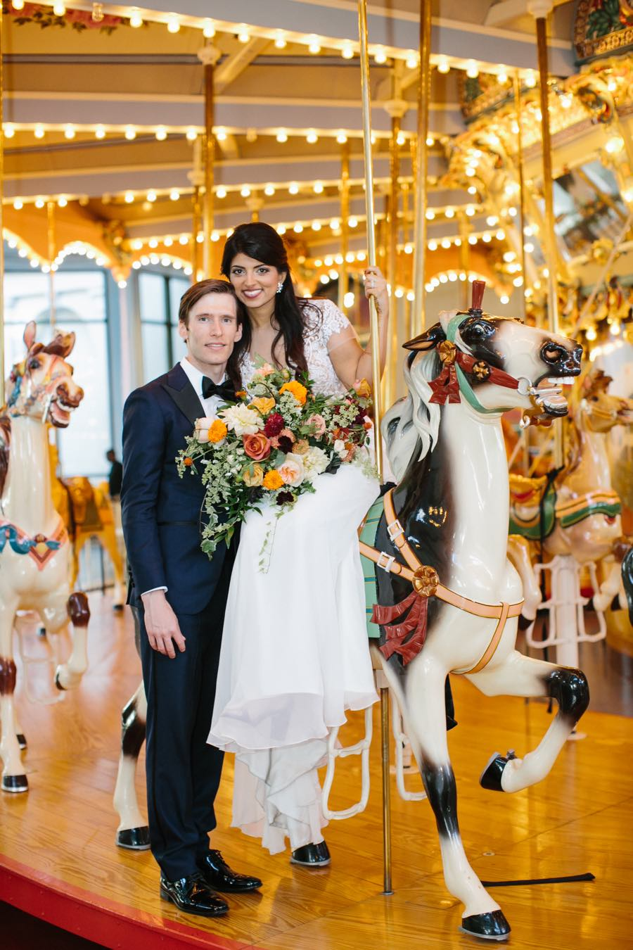 please-touch-museum-carousel-wedding-portaits