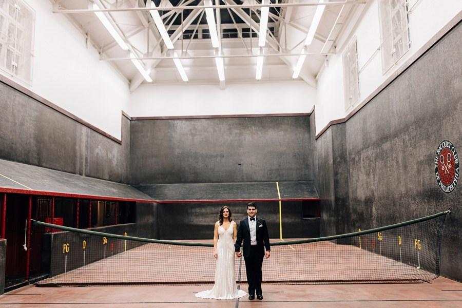 racquet club wedding
