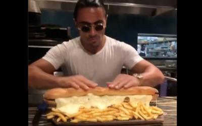 salt bae cheesesteak