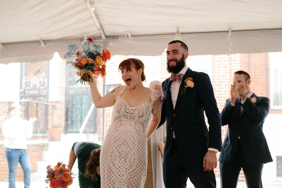 south philly block party wedding