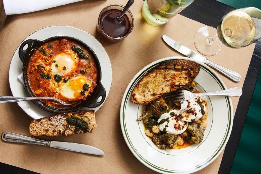 brunch fitler square trattoria carina eggs