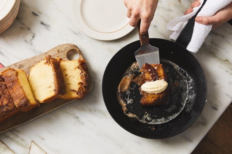 trattoria carina brunch menu cake