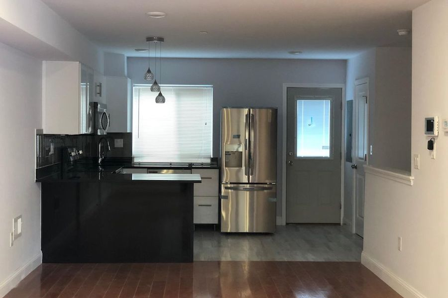 apartment for rent west poplar new construction kitchen