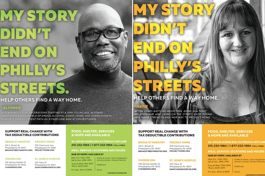 homelessness postcards center city district project home