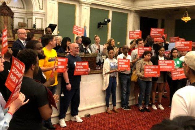 fair workweek bill city council helen gym