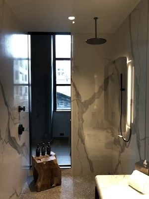 fitler club hotel preview shower