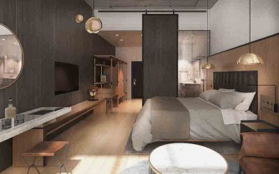 fitler club hotel preview rendering