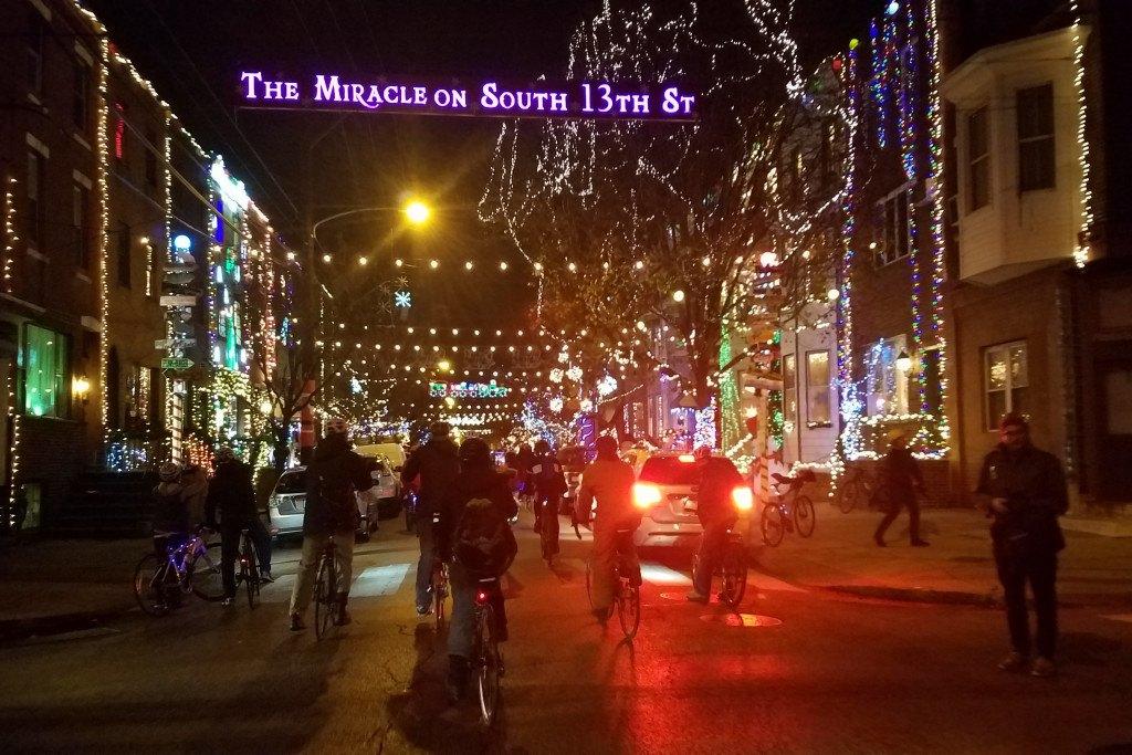 holiday lights ride