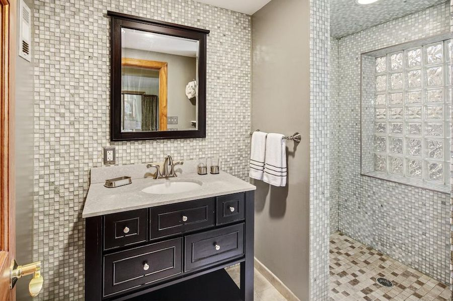 house for sale fitler square courtyard house master bathroom