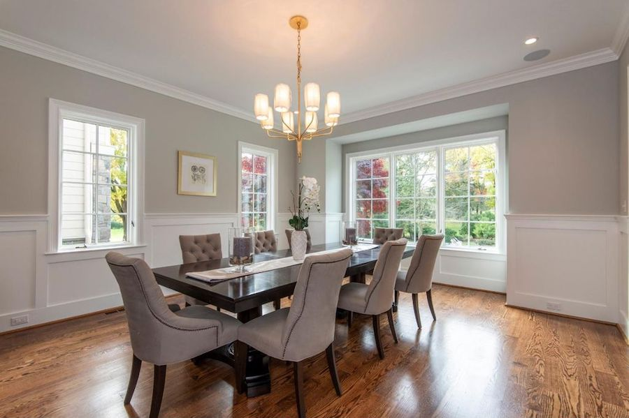 house for sale haverford new estate dining room