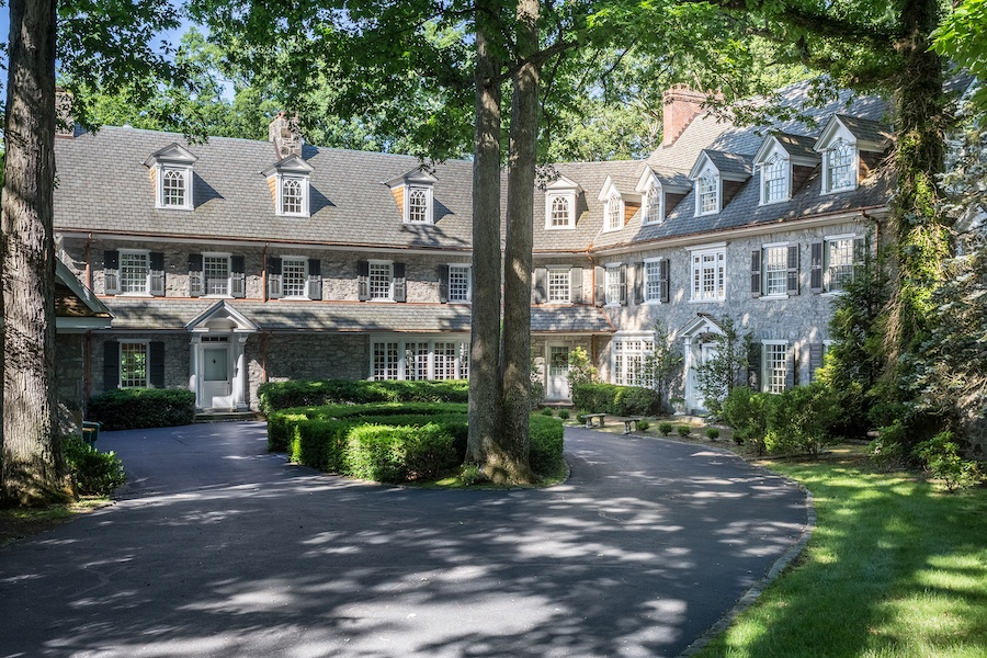 house for sale lower gwynedd smith mansion exterior front