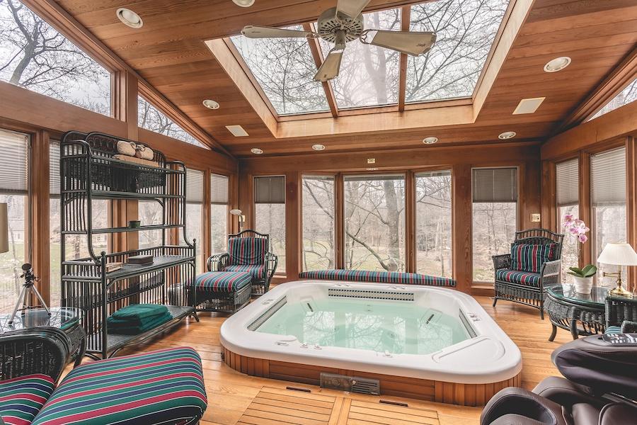 house for sale lower gwynedd smith mansion solarium