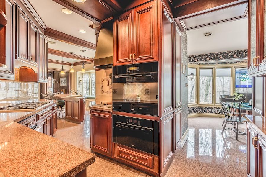 house for sale lower gwynedd smith mansion kitchen