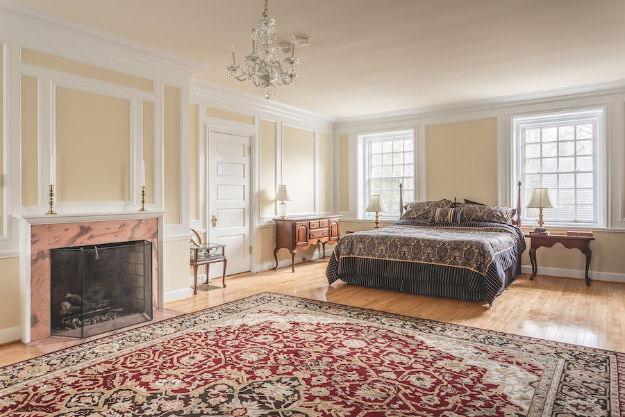 house for sale lower gwynedd smith mansion master bedroom