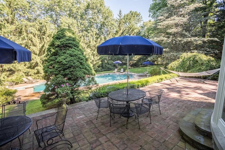 house for sale lower gwynedd smith mansion patio and pool