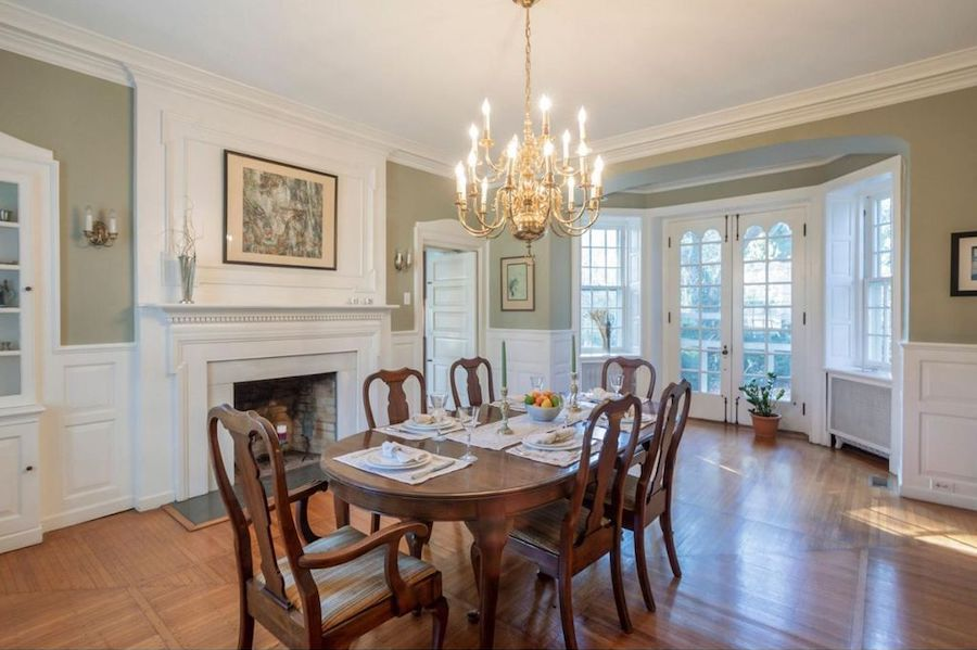 house for sale mt airy colonial dining room
