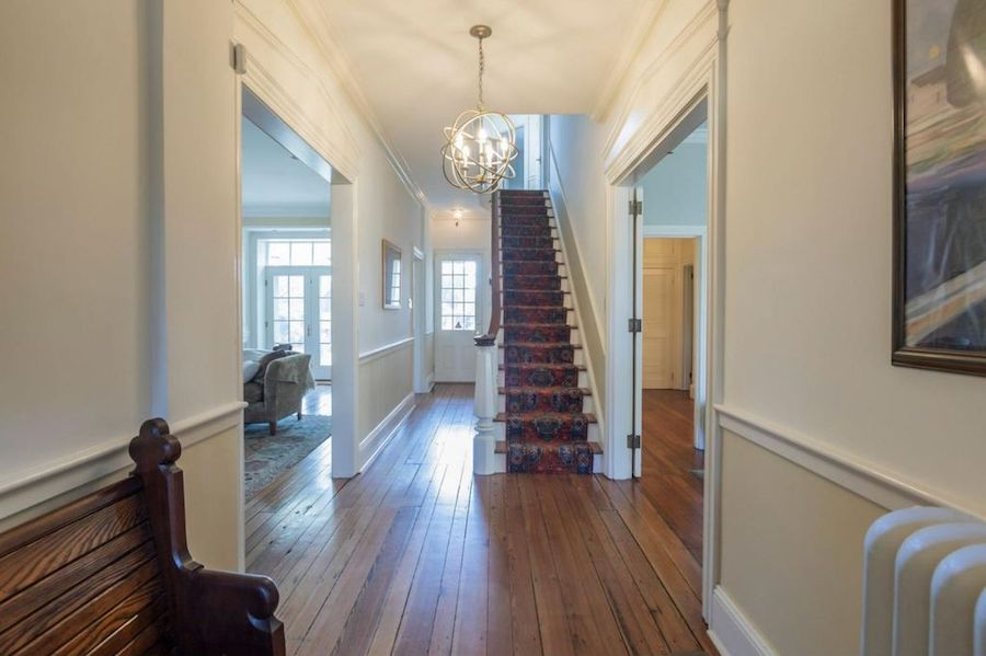 house for sale mt airy colonial entrance hall