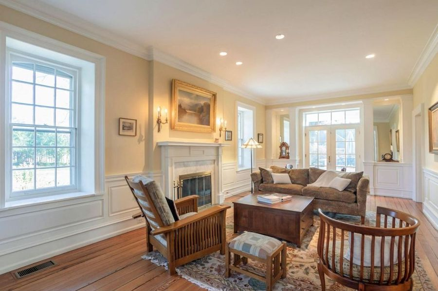 house for sale mt airy colonial living room