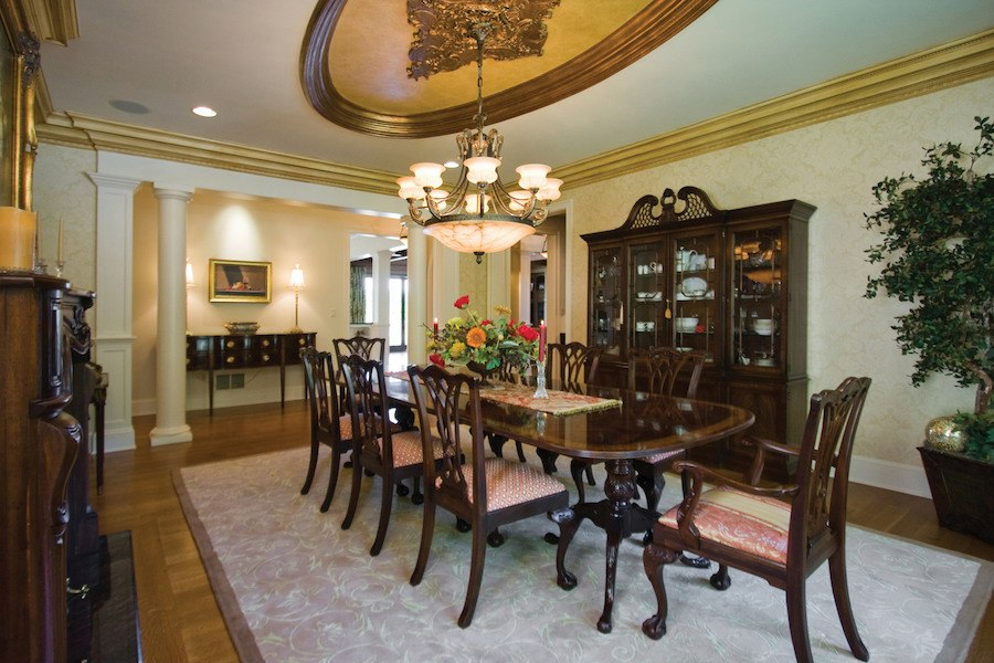 house for sale solebury rockwood farm dining room