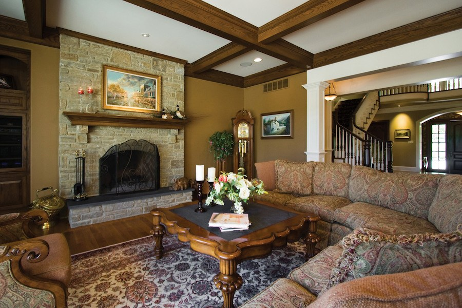 house for sale solebury rockwood farm family room