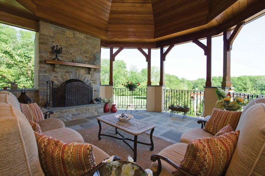 house for sale solebury rockwood farm outdoor living room