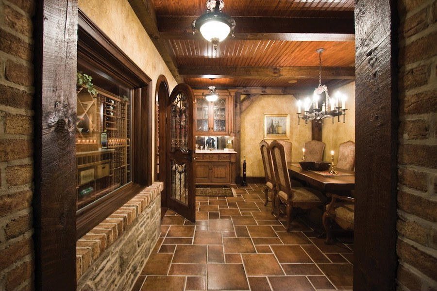 house for sale solebury rockwood farm wine cellar