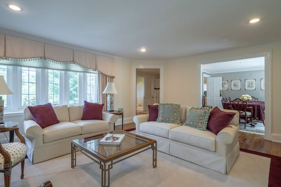 house for sale wayne expanded colonial living room