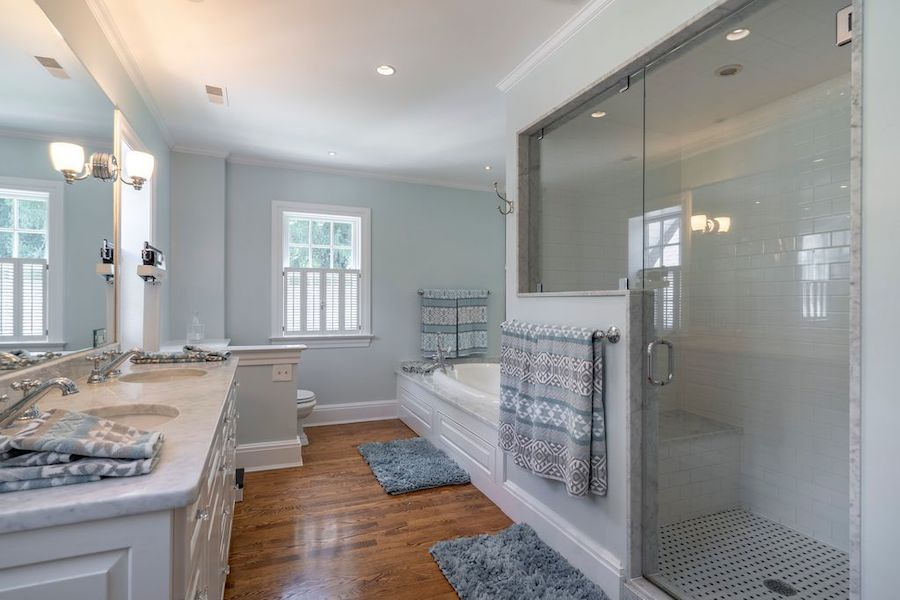 house for sale wayne expanded colonial master bathroom
