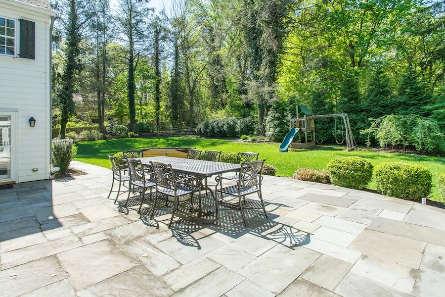 house for sale wayne expanded colonial patio and backyard