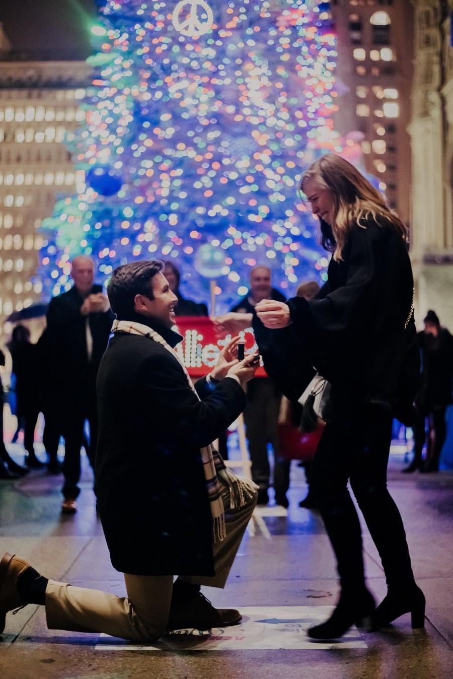 macys christmas tree proposal