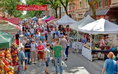 kennett square neighborhood guide mushroom festival