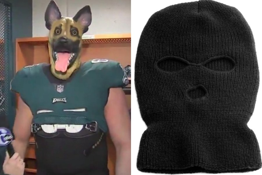 Eagles to Fans  Ditch That Underdog Mask and Don a Ski Mask Instead dd3e1fbb48cd