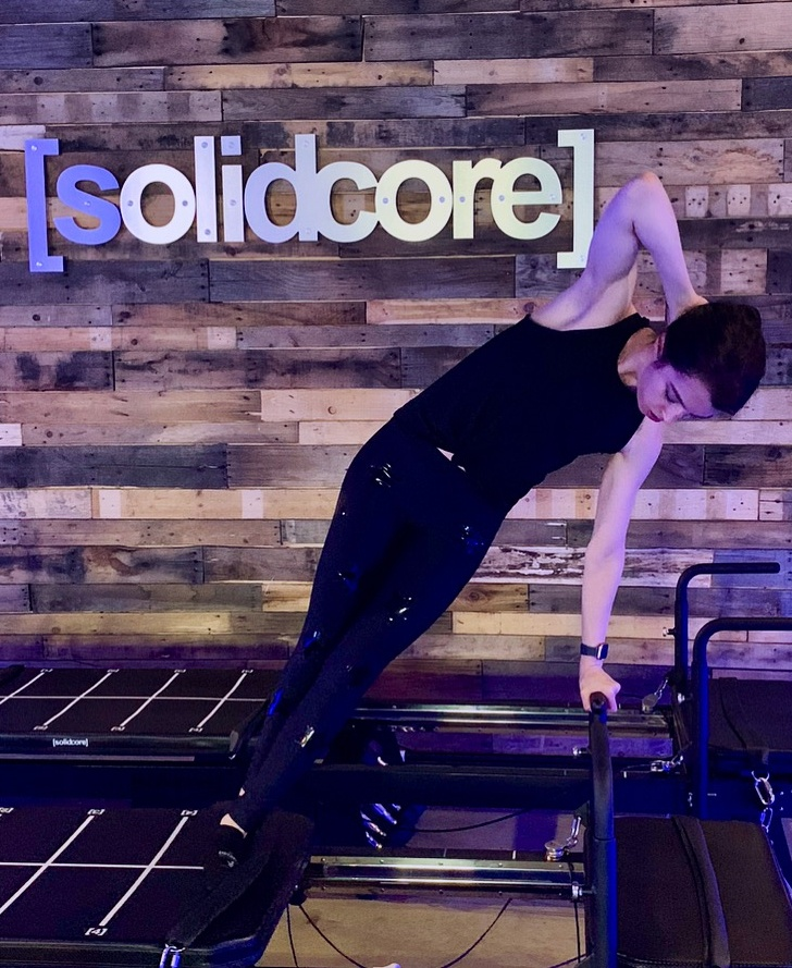 solidcore instructor food diary